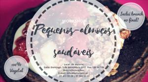 Workshop de Alimentação - Pequenos-almoços Saudáveis